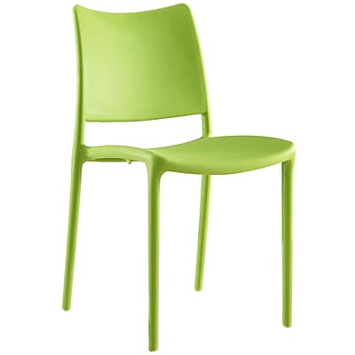 Modway Hipster Dining Side Chair in Green (EEI-1703-GRN)