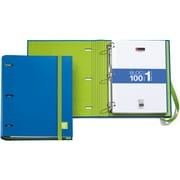 Miquel-Rius Blue 3-Ring Refillable Binder & 100 Sheets Of Paper (147-14745)