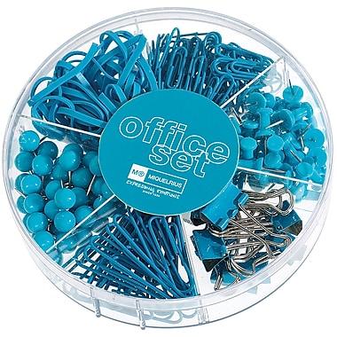 Miquel-Rius Turquoise Candy Colors Office Set, 245 pcs (111-11181)