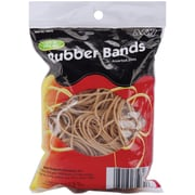 A & W Office Supplies Tan - Assorted Sizes Rubber Bands ,.25 lb (35070)