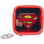 "Everything Mary Superman DC Comics Square Zip Pouch, 4.25"" x 1.5"" x 4.25"" (DCSZP-154)"