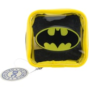 "Everything Mary Batman DC Comics Square Zip Pouch, 4.25"" x 1.5"" x 4.25"" (DCSZP-153)"