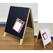 "Hampton Art Magnetic Dry Erase Chalkboard Easel, 8"" x 12"" (AC0456)"