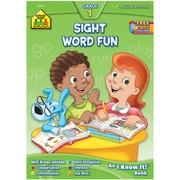 School Zone Sight Word Fun Deluxe Grade 1 Curriculum Workbook (SZCUR-2244)