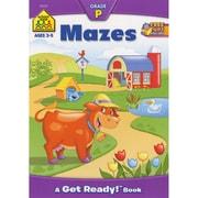 School Zone Mazes Preschool Workbooks, Ages 3-5 (SZPRESCH-02057)