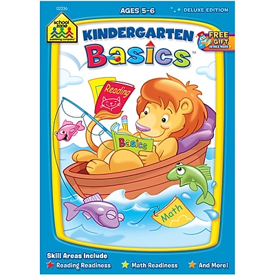 School Zone Kindergarten Basics Workbook, Ages 5-6 (SZWKBK-2236)