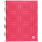 "Miquel-Rius Raspberry Candy Colors Spiral-Bound Ruled Notebook, 8.5"" x 11"" (45065)"