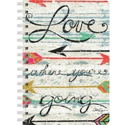"LANG Love Where You Go Spiral-Bound Journal Notebook, 6"" x 8.25"", 240 Pages (13500-12)"