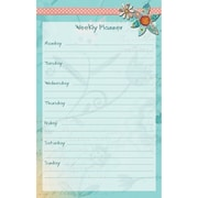 """LANG Bloom Jumbo Weekly Planner, 6"""" x 9.5"""", 50 Pages (60900-02)"""