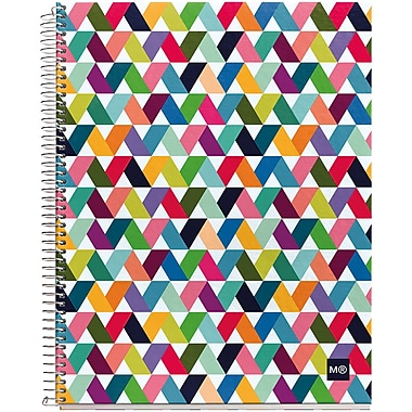 Miquel-Rius Origami Light Spiral-Bound Ruled Notebook, 8.5