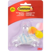 3M Command (TM) Party Balloon Bunchers, 3 Bunchers And 4 Clear Strips/Pkg (17801)