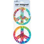 Paper House Peace Signs Car Magnet (MCAR-1009E)