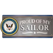 Paper House U.S. Navy - Proud Of My Sailor Car Magnet (MCAR-1057E)