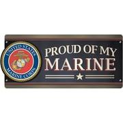 Paper House U.S. Marine - Proud Of My Marine Car Magnet (MCAR-1058E)