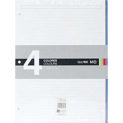 Miquel-Rius Lined 100 Sheet Notebook Pad, 8.5