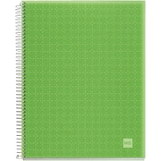 "Miquel-Rius Apple Green Candy Colors Spiral-Bound Ruled Notebook, 8.5"" x 11"" (45066)"