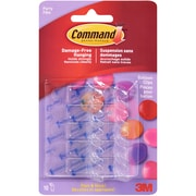 3M Command (TM) Party Balloon Clips, 10 Hooks And 10 Strips (on A Liner)/Pkg (17805)