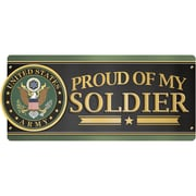 Paper House U.S. Army - Proud Of My Soldier Car Magnet (MCAR-1056E)