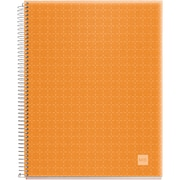 "Miquel-Rius Tangerine Candy Colors Spiral-Bound Ruled Notebook, 8.5"" x 11"" (45064)"
