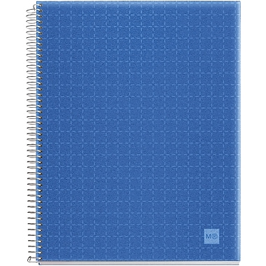 Miquel-Rius Cobalt Blue Candy Colors Spiral-Bound Ruled Notebook, 8.5