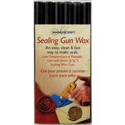 Manuscript Pen Dark Green Sealing Gun Wax Sticks, 6/Pkg (7616DGR)