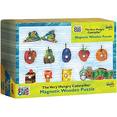 University Games Very Hungry Caterpillar Magnetic Puzzle, 11 pcs (BP30140) 24238949
