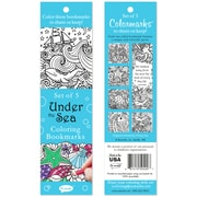 Re-marks Under The Sea Coloring Bookmarks, 5/Pkg (6814-50400)