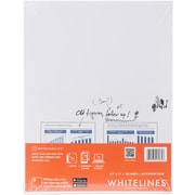 """Roaring Spring Whitelines All Purpose Paper, Grey, 8.5""""X11"""", 100 Sheets (RS17035)"""