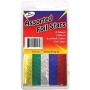 The Pencil Grip Assorted Foil Star Stickers, 440/Pkg (TPG-46-1)
