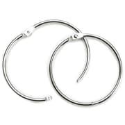 "Baumgartens Silver Book Ring, 3"", 1/Pkg (31495)"