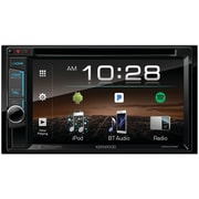 "Kenwood 6.2"" Double-DIN In-Dash DVD Receiver with Bluetooth & SiriusXM Ready (DDX375BT)"