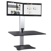 Victor Technology DC450 Electric Dual Monitor Standing Desk Workstation