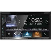"Kenwood 6.8"" Double-DIN In-Dash DVD Receiver with Bluetooth, Apple CarPlay, Android Auto, HD Radio & SiriusXM Ready (DDX6704S)"