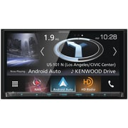Kenwood 6.95 inch Double DIN In Dash Navigation DVD Receiver with Bluetooth, Apple CarPlay, Android Auto, & SiriusXM... by