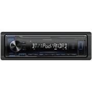 Kenwood Single-DIN In-Dash Digital Media Receiver with Bluetooth (KMM-BT222U)