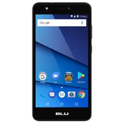 BLU Studio J8 LTE 16GB Unlocked Dual-SIM Phone - Black (S0351WW)