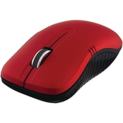 Verbatim Commuter Series Wireless Notebook Optical Mouse, Matte Red (99767)