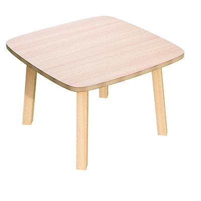 Paperflow Beech Wood Reception Table 15.75