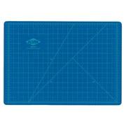 """Blue/Gray Self-Healing Hobby Mat - 24"""" x 36"""""""
