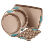 Rachael Ray Cucina Nonstick Bakeware Steel 4-Piece Set, Blue (52389)