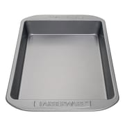 "Farberware Bakeware Steel 9"" x 13"" Rectangular Cake Pan, Gray (52102)"