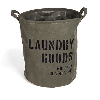 Danya B Army Canvas Laundry Bucket (LY952)