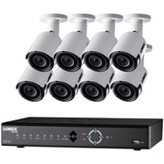 Lorex 16-Channel 4.0-Megapixel 3TB NVR with 8 4.0-Megapixel Cameras (LNK72163TC8B)