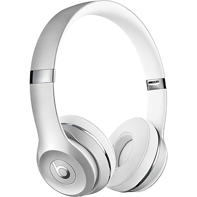 Beats MNEQ2LL/A/ SOLO3/ SILVER Solo3 Bluetooth On-Ear Headphones with Microphone (Silver)