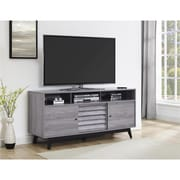 Ameriwood Home Ashlar TV Stand, Gray (1817096)