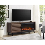 Ameriwood Home Vaughn Fireplace TV Console, Walnut (1824096COM)