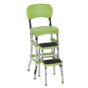 Cosco Green Retro Counter Chair Step Stool (11120GRN1E)