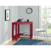 Ameriwood Home Parsons Corner Desk, Red (9896196COM)