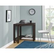 Altra Furniture Parsons Desk with Drawer, Black Oak Finish(9896296COM)