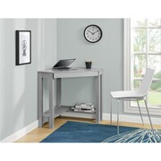 Ameriwood Home Parsons Corner Desk, Gray (9896096COM)
